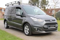 USED 2016 66 FORD TRANSIT CONNECT 1.5 240 LIMITED P/V 118 BHP NO VAT LIMITED AUTOMATIC LONG WHEEL BASE GREY WARRANTY INCLUDED