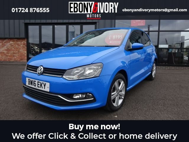 USED 2016 16 VOLKSWAGEN POLO 1.2 MATCH TSI 5d 89 BHP FULL VW SERVICE HISTORY