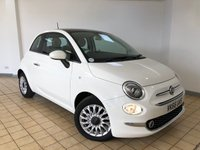 USED 2016 66 FIAT 500 1.2 LOUNGE 3d 4 Seat Petrol Hatchback Low Tax Low Insurance Group Cheap to Run Recent Service plus MOT now Ready to Finance and Drive Away 1 Former Keeper