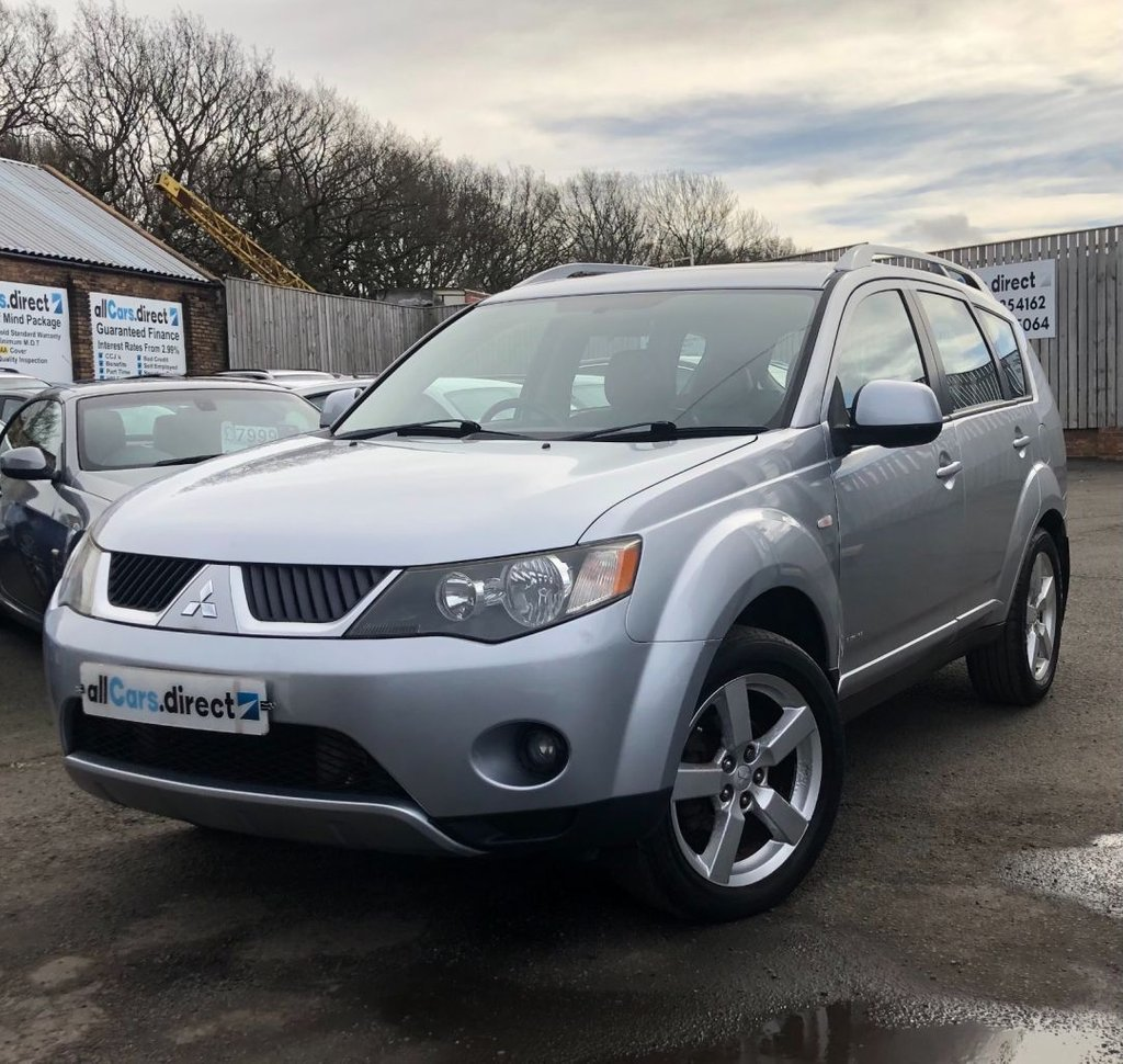 USED 2007 07 MITSUBISHI OUTLANDER 2.0 INTENSE ELEGANCE H-LINE DI-D **P/X TO CLEAR**