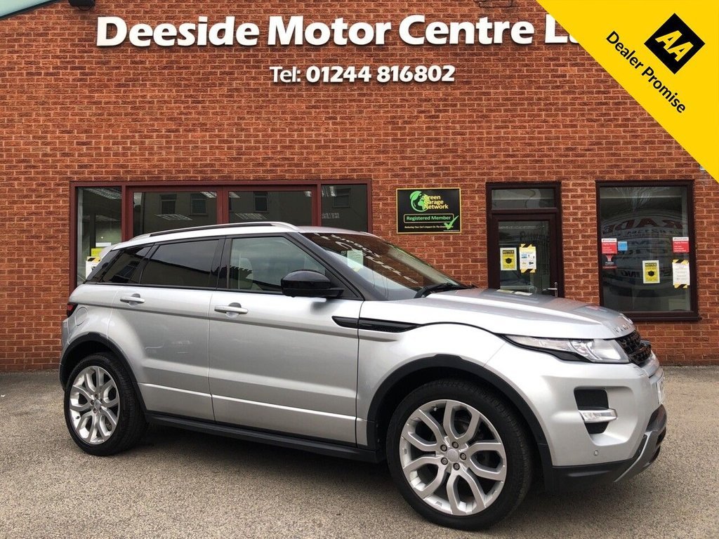 USED 2015 15 LAND ROVER RANGE ROVER EVOQUE 2.2 SD4 DYNAMIC LUX 5d 190 BHP High specification please see description