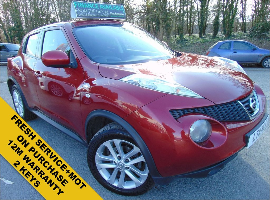 USED 2011 11 NISSAN JUKE 1.6 ACENTA PREMIUM 5d 117 BHP FRESH SERVICE+MOT ON PURCHASE