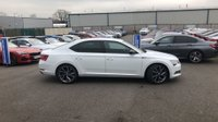 USED 2017 67 SKODA SUPERB 2.0 SPORTLINE TDI DSG 5d 5 Seat Family Hatchback AUTO with Massive Spec including Sat Nav, Wi-fi Drive Mode Selector, Apple Car play/Android Auto, 9.2in touch screen, Voice Control System and more.
