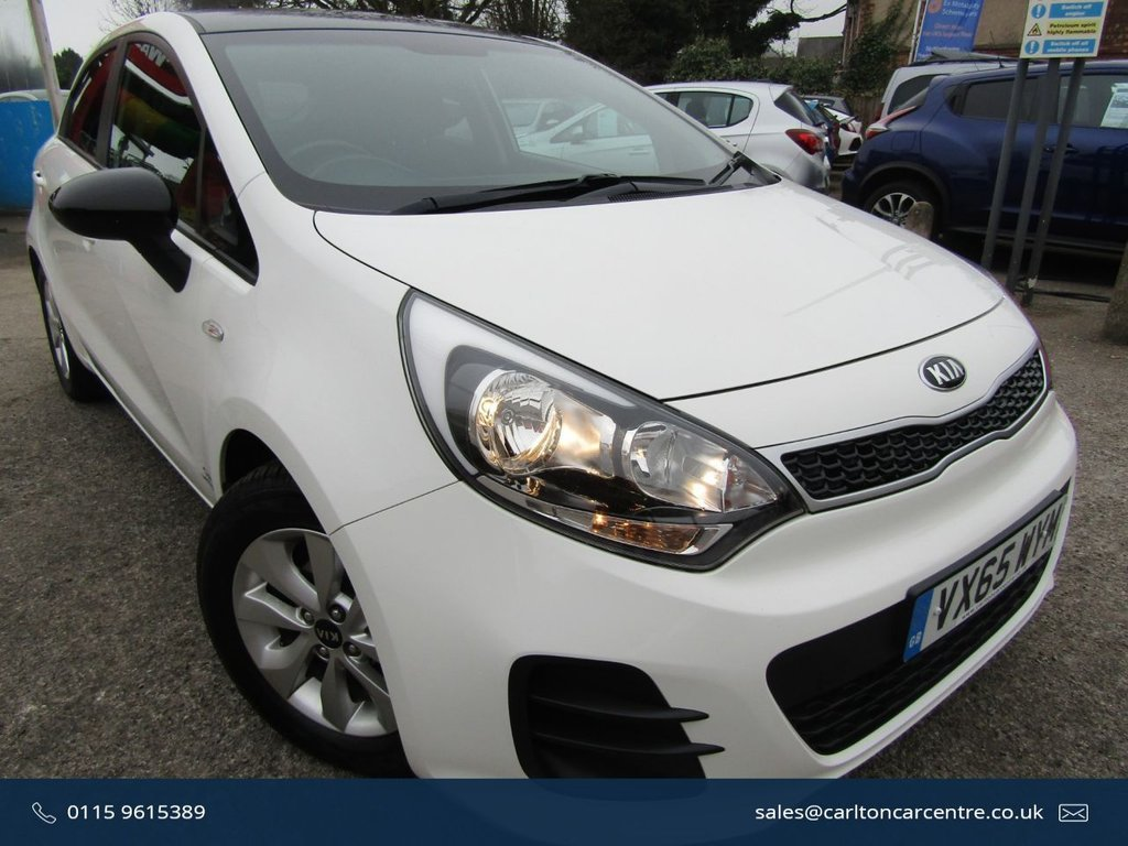 USED 2015 65 KIA RIO 1.2 SR7 5d 83 BHP Excellent condition ** New MOT ** Warranty included ** Two keys ** Service history ** Low tax ** Part Exchange welcome ** SR7 Styling **