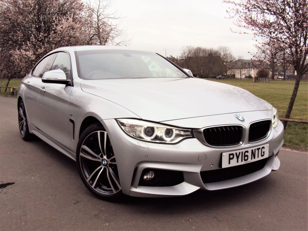 USED 2016 16 BMW 4 SERIES 2.0 430I M SPORT GRAN COUPE 4d 248 BHP 1 OWNER FULL SERVICE HISTORY