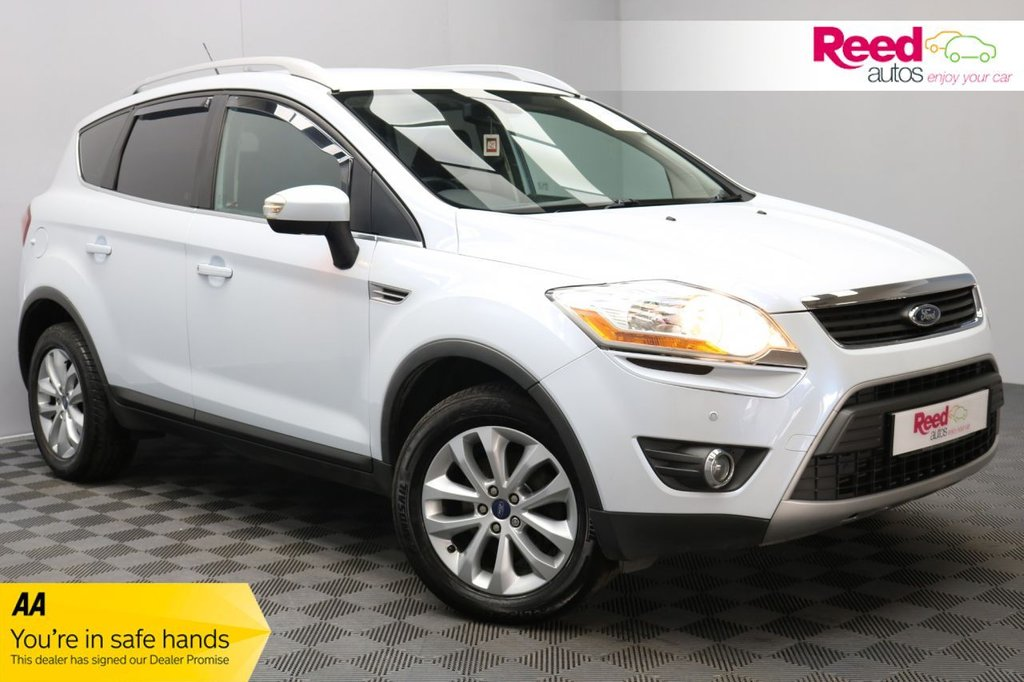 USED 2013 62 FORD KUGA 2.0 TITANIUM TDCI AWD 5d 163 BHP 1/2 LEATHER UPHOLSTERY+VISIBILITY PACK+FOG LIGHTS+HEATED WNDSCREEN+ELECTRIC DOOR MIRRORS