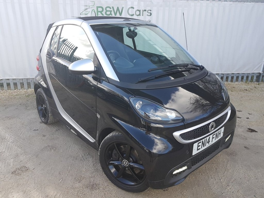 USED 2014 14 SMART FORTWO CABRIO 1.0 GRANDSTYLE EDITION 2d 84 BHP