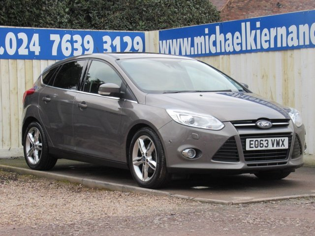 USED 2013 63 FORD FOCUS 1.6 TITANIUM X 5d 180 BHP FULLY LOADED