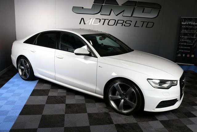 USED 2013 AUDI A6 LATE 2013 AUDI A6 2.0 TDI S LINE BLACK EDITION STYLE AUTO 175 BHP (FINANCE AND WARRANTY)