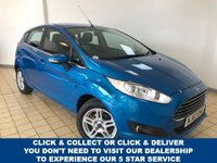 USED 2013 63 FORD FIESTA 1.0 ZETEC 5d 5 Seat Petrol Hatchback Great Value for Money. Recent Service & MOT and New Brakes.  Now Ready to Finance and Drive Away Today The prefect First Car or Runaround
