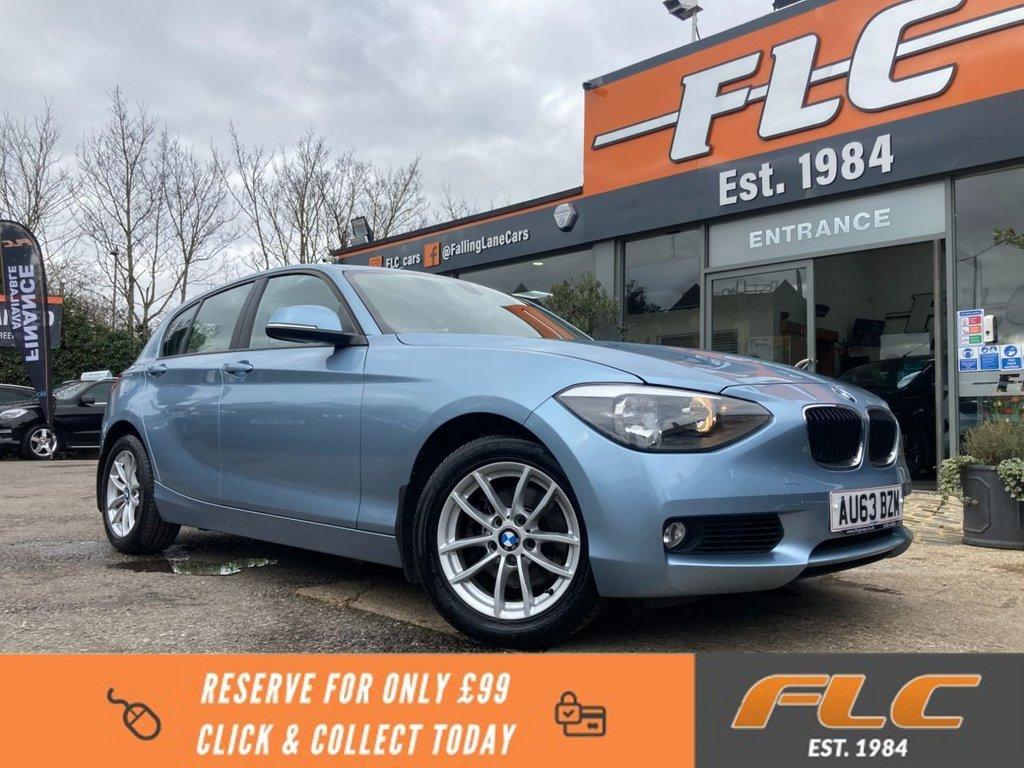 USED 2013 63 BMW 1 SERIES 2.0 120D SE 5d 181 BHP