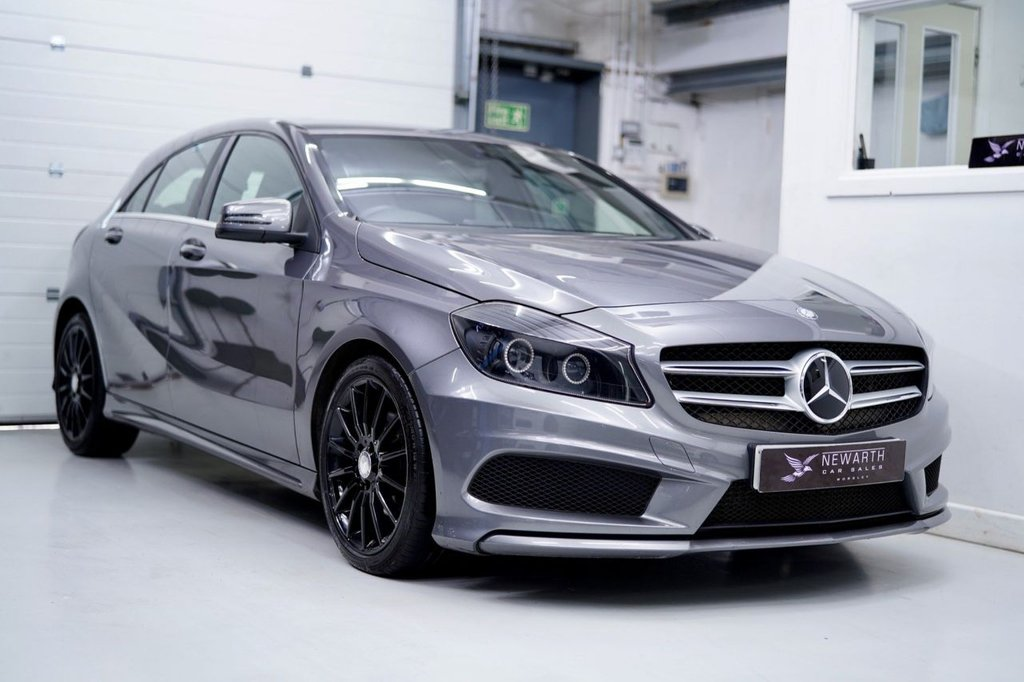 USED 2014 14 MERCEDES-BENZ A-CLASS 2.1 A200 CDI AMG Sport 5dr AMG 18' MULTISPOKES | PRIVACY
