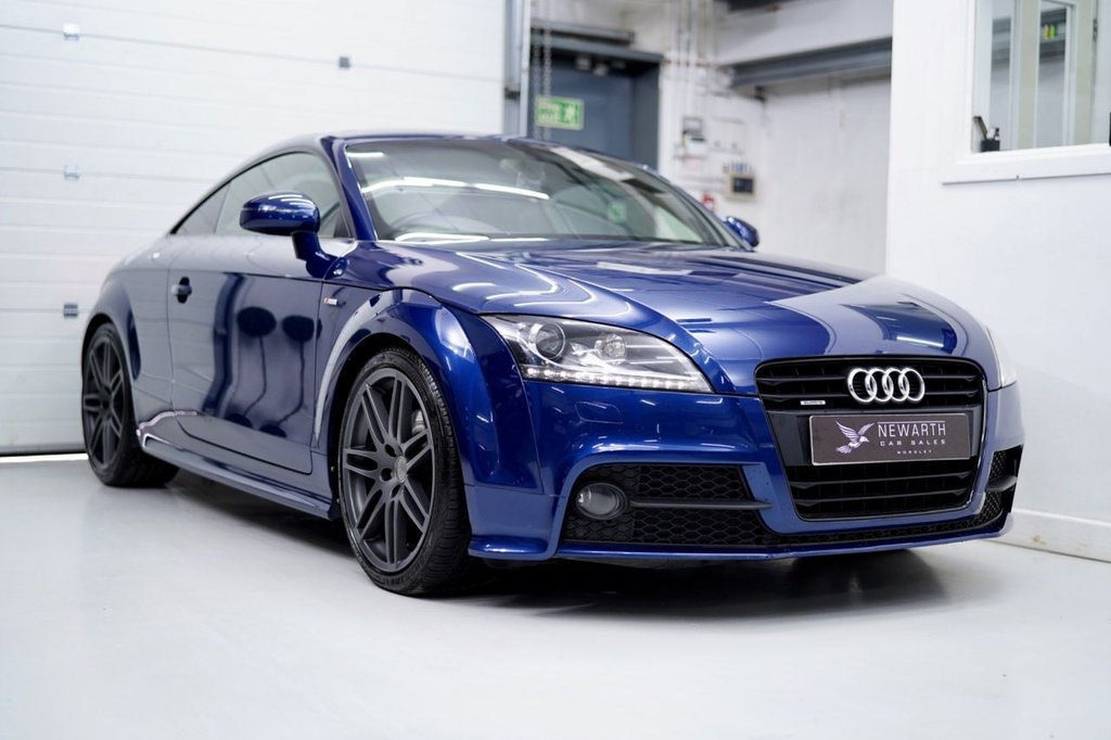 USED 2013 13 AUDI TT 2.0 TD Black Edition S Tronic 2dr 1 Owner from New