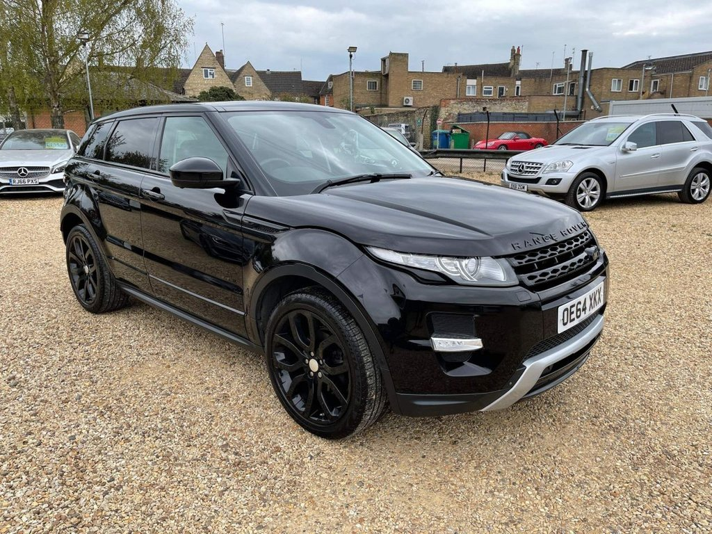 USED 2015 64 LAND ROVER RANGE ROVER EVOQUE 2.2 SD4 Dynamic Lux AWD 5dr Pan roof, T.V, Camera Pack++