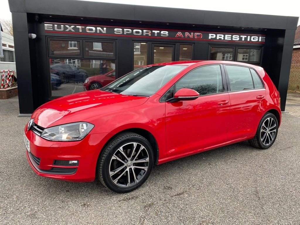 USED 2016 16 VOLKSWAGEN GOLF 1.6 TDI BlueMotion Tech Match Edition (s/s) 5dr FULL VW SERVICE HISTORY