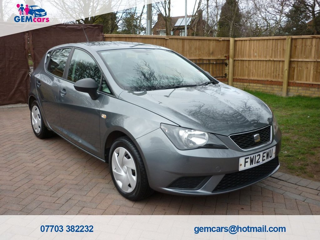 USED 2012 12 SEAT IBIZA 1.2 S A/C 5d 69 BHP GO TO OUR WEBSITE TO WATCH A FULL WALKROUND VIDEO