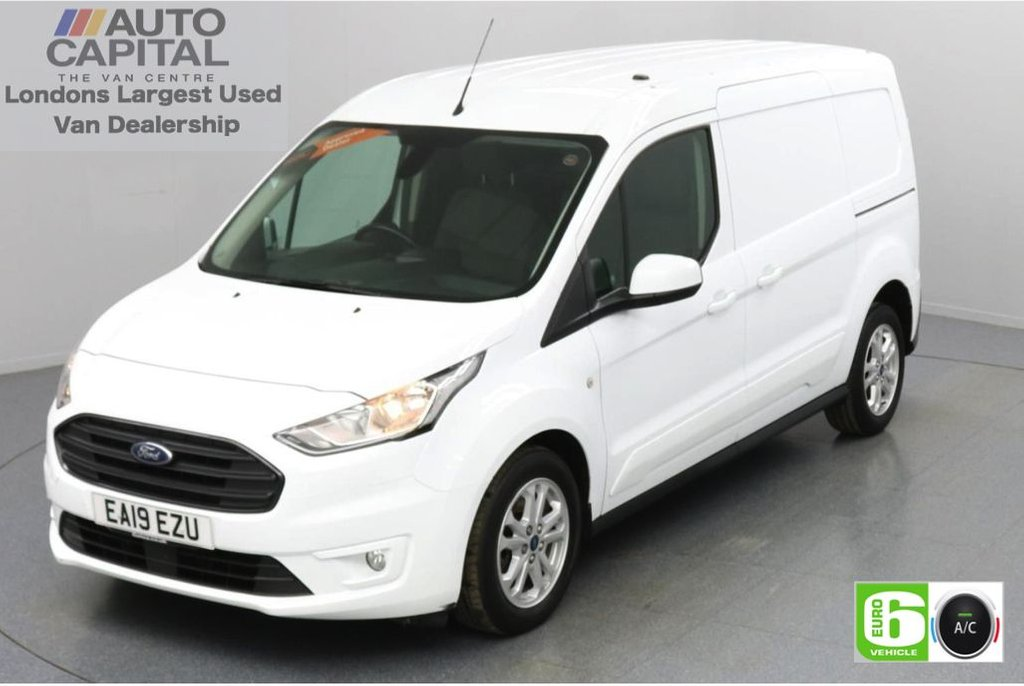USED 2019 19 FORD TRANSIT CONNECT 1.5 240 Limited EcoBlue 120 BHP L2 LWB 3 Seats Low Emission Keyless | Air Con | R. Sensors | Alloy wheels | Auto Start-Stop system