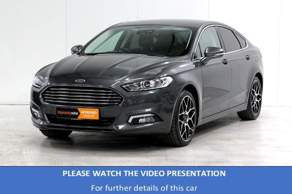 USED 2019 19 FORD MONDEO 2.0 TDCi Titanium Edition Powershift (s/s) 5dr VAT Q*HEATED WHEEL*REAR CAM*19