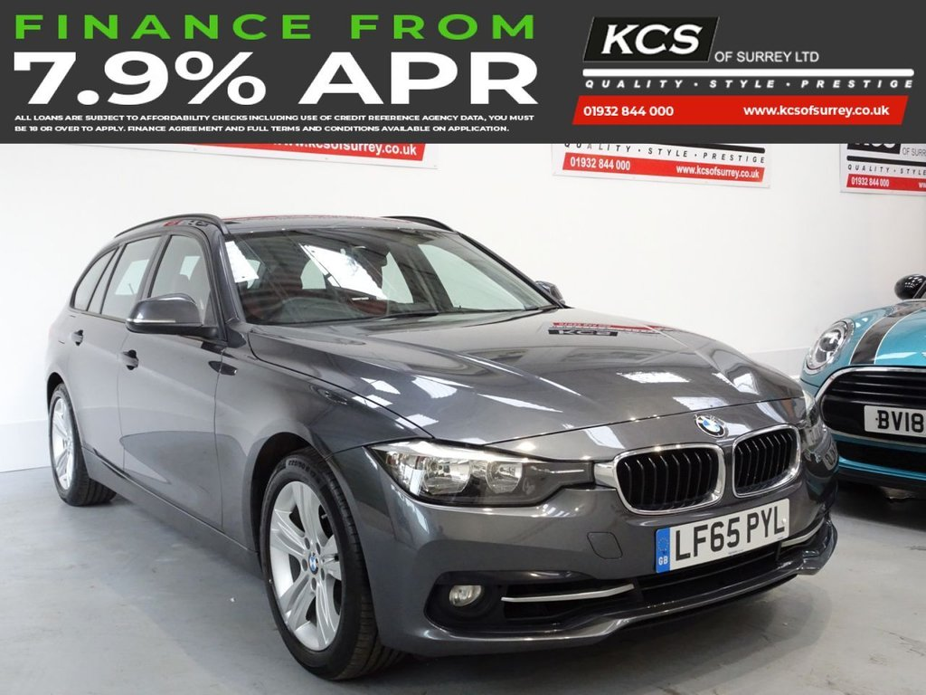 USED 2015 65 BMW 3 SERIES 1.5 318I SPORT TOURING 5d 135 BHP SAT NAV - FULL LEATHER