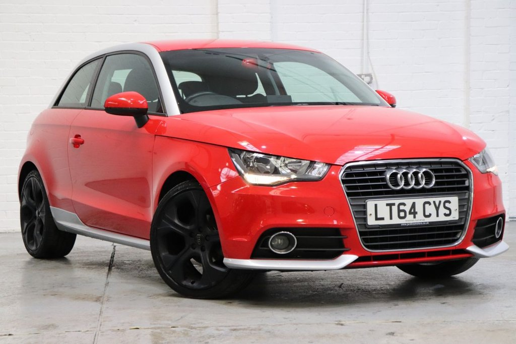 USED 2014 64 AUDI A1 1.2 TFSI CONTRAST EDITION PLUS 3d 86 BHP Recently Serviced + Long Mot