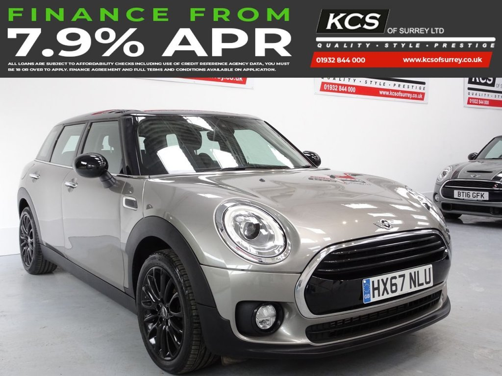 USED 2017 67 MINI CLUBMAN 1.5 COOPER 5d 134 BHP CHILI PACK-SAT NAV -HTD SEATS
