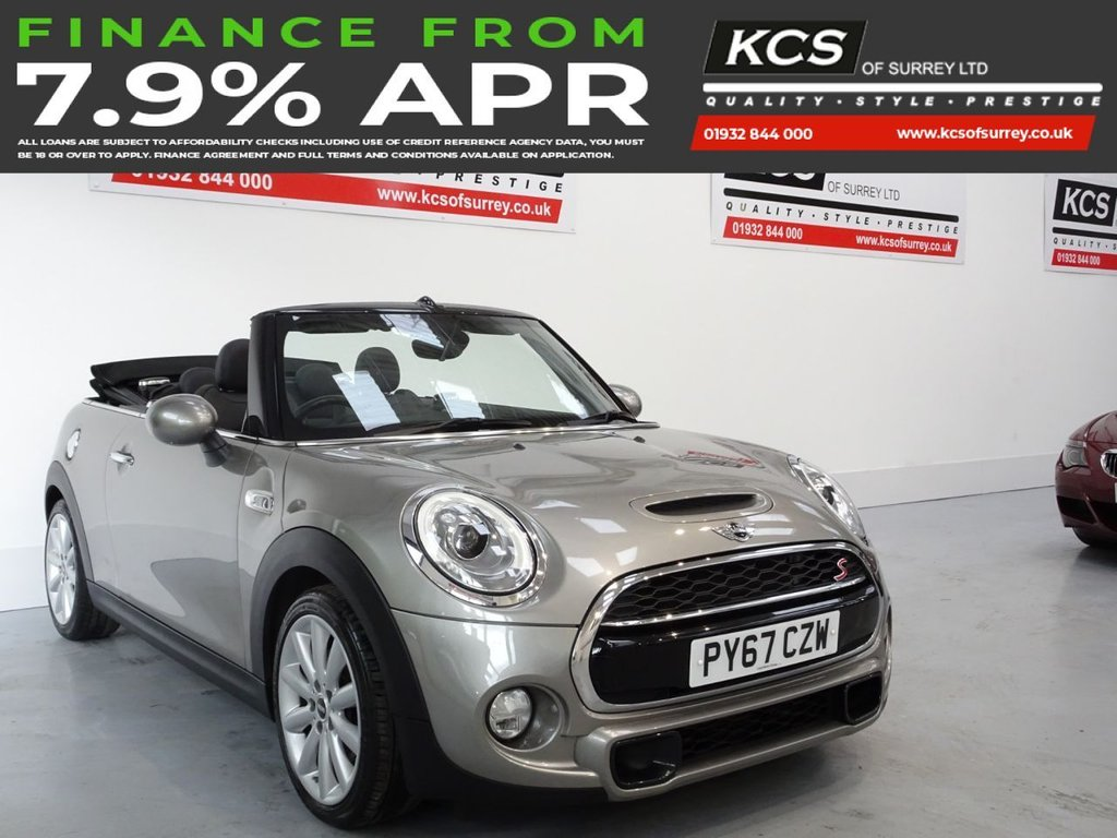 USED 2017 67 MINI CONVERTIBLE 2.0 COOPER S 2d 189 BHP CHILI PACK - HEATED LEATHER