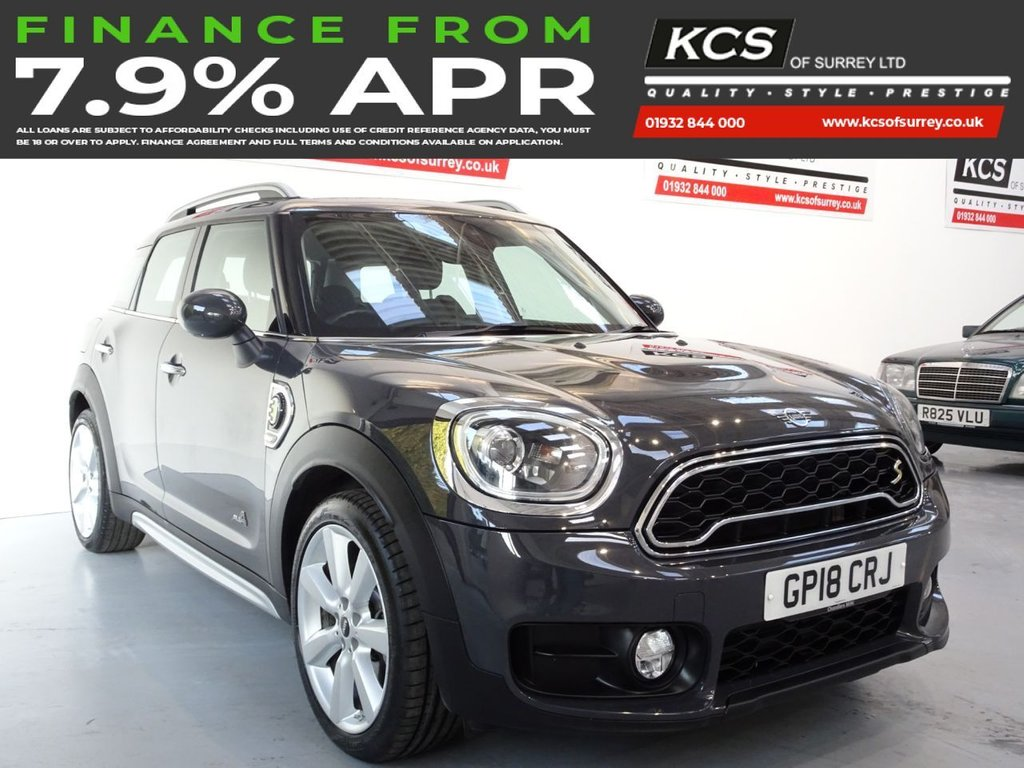 USED 2018 18 MINI COUNTRYMAN 1.5 COOPER S E ALL4 5d 222 BHP CHILI PACK -SAT NAV -HTD SEATS