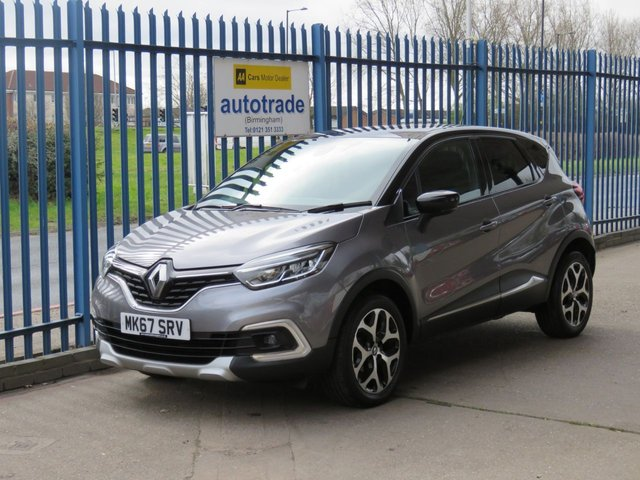 USED 2017 67 RENAULT CAPTUR 0.9 DYNAMIQUE S NAV TCE 5d 90 BHP Sat Nav,Air Conditioning,Rear parking Sensors and Privacy Glass