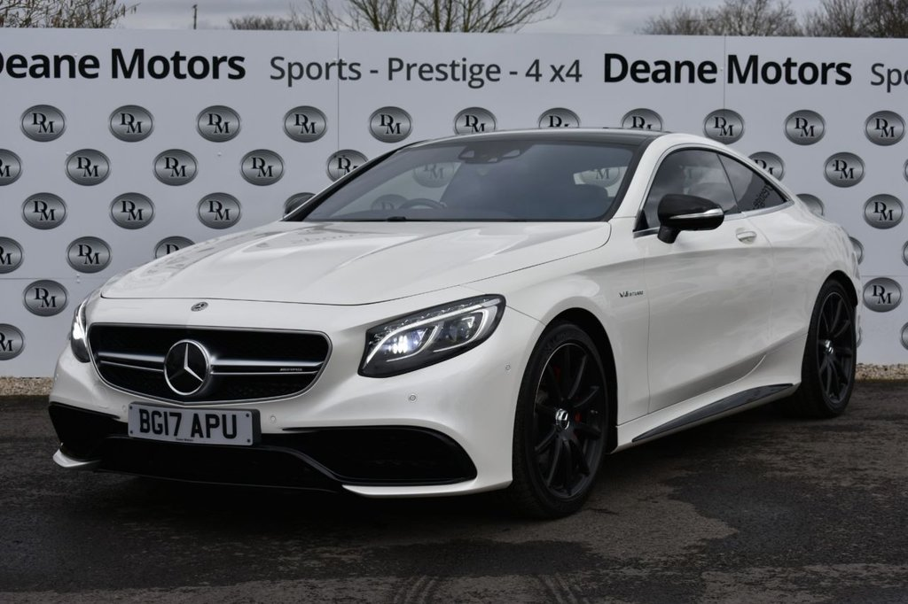 USED 2017 17 MERCEDES-BENZ S-CLASS 5.5 AMG S 63 2d 577 BHP HUGE SPECIFICATION