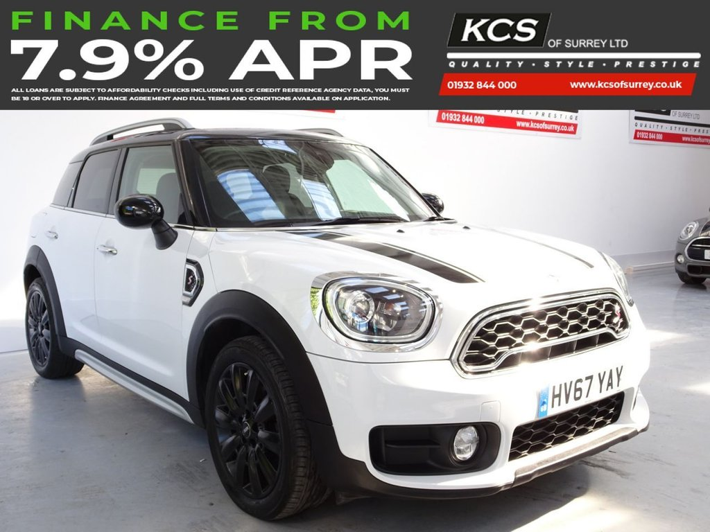 USED 2017 67 MINI COUNTRYMAN 2.0 COOPER S 5d 189 BHP CHILI PACK -SAT NAV -HTD SEATS