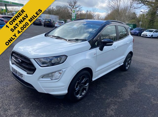 2018 68 FORD ECOSPORT 1.0 ST-LINE ECOBOOST AUTOMATIC 125 BHP NEW MODEL