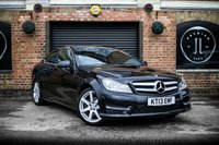 USED 2013 13 MERCEDES-BENZ C-CLASS 1.6 C180 BLUEEFFICIENCY AMG SPORT 2d AUTO 154 BHP