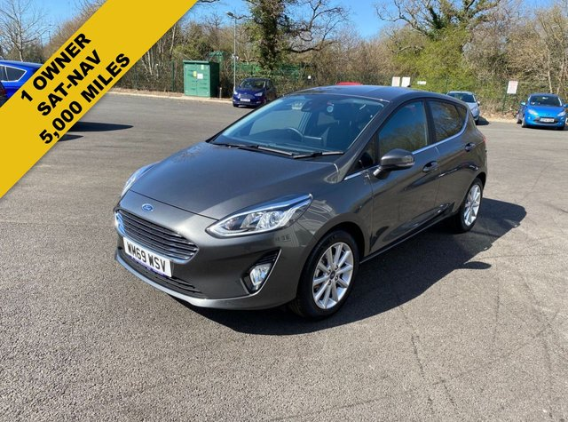 2020 69 FORD FIESTA 1.0 TITANIUM ECOBOOST (100 PS) NEW MODEL