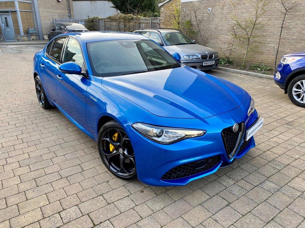 USED 2019 68 ALFA ROMEO GIULIA 2.0L TB VELOCE 4d AUTO 277 BHP OVER £4500 OF FACTORY EXTRAS
