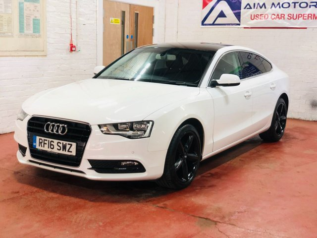 USED 2016 16 AUDI A5 2.0 TDI ULTRA SE TECHNIK 5d 134 BHP ONLY 56K GUARANTEED MILES - ONE OWNER FROM NEW - LONG MOT TILL JAN 2022