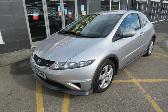 USED 2009 09 HONDA CIVIC 1.3 I-VTEC TYPE S 3d 98 BHP