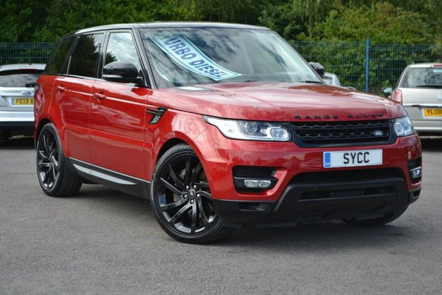 "USED 2015 LAND ROVER RANGE ROVER SPORT 3.0 SDV6 HSE DYNAMIC 5d 306 BHP ~ STEALTH PACK STEALTH PACK ~ 22"" BLACK ALLOYS ~ 265 ROAD TAX"
