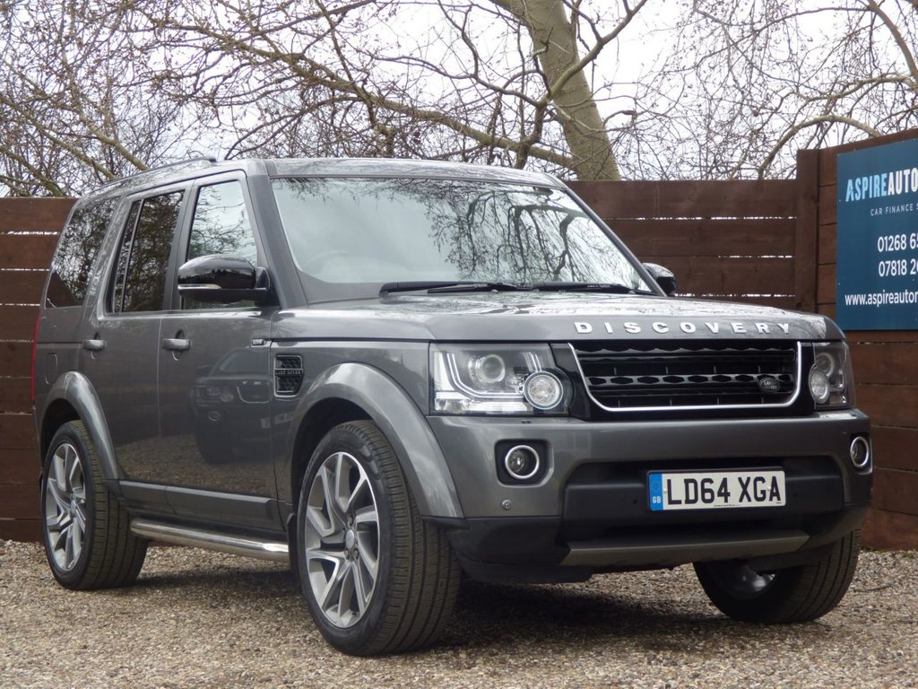 USED 2014 64 LAND ROVER DISCOVERY 3.0 SDV6 HSE 5d 255 BHP *** 6 SERVICE STAMPS ***