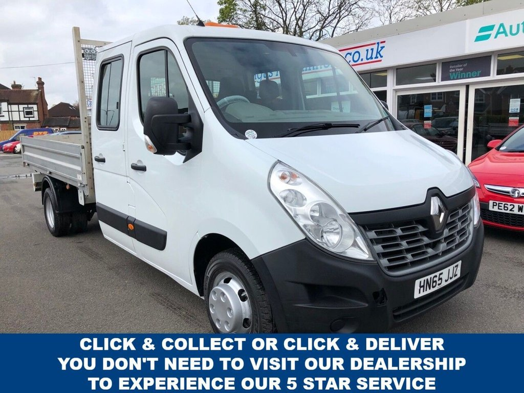 USED 2015 65 RENAULT MASTER 2.3 LL35 BUSINESS DCI Low Roof LWB DCC 4dr 3 Seat Crew Cab Dropside Flat Bed Truck in Fantastic Condition and Excellent Service History Very Well Maintained Perfect for Hard Working Builders  Ready to Finance and Drive Away Today The Perfect Renault Master Dropside