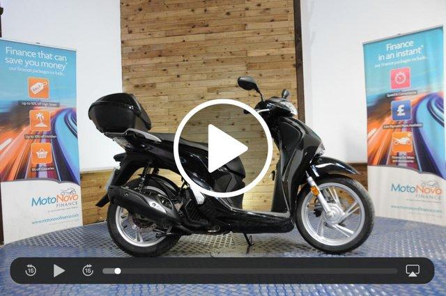 USED 2017 17 HONDA SH125 125cc SH 125 AD-H 12 BHP