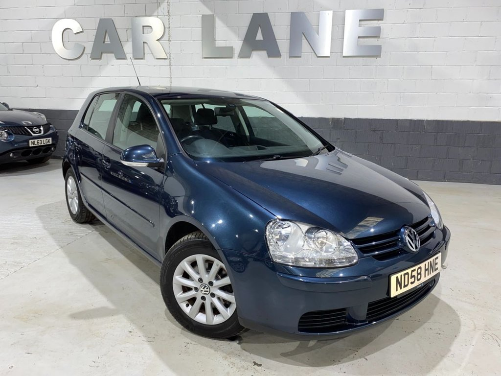 USED 2008 58 VOLKSWAGEN GOLF 1.9 MATCH TDI 5d 103 BHP