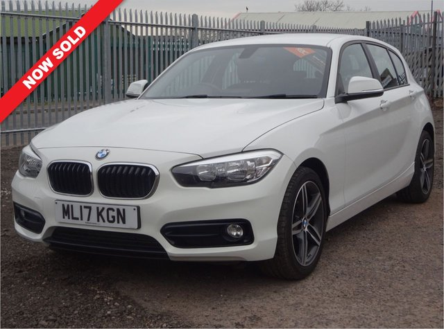 USED 2017 17 BMW 1 SERIES 1.5 118I SPORT 5d 134 BHP 3 SERVICE STAMPS/JUST SERVICED