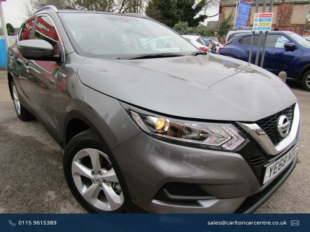 USED 2018 68 NISSAN QASHQAI 1.2 ACENTA DIG-T 5d 113 BHP ** Excellent condition Qashqai ** Lowest miles ** Panoramic roof ** Service history ** P/X welcome ** Spare tyre ** Faultless drive ** Two keys ** AA breakdown cover **Low deposit PCP available **