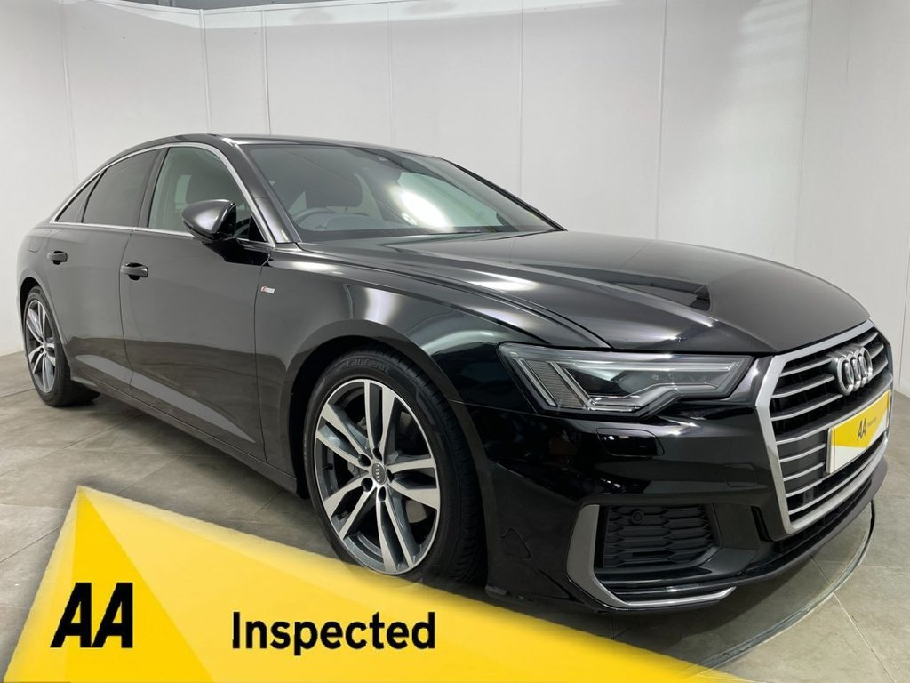 USED 2019 AUDI A6 40 TDI S Line 4dr S Tronic