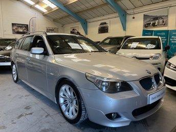 2005 BMW 5 SERIES 3.0 530D SPORT TOURING 5d 215 BHP £7490.00