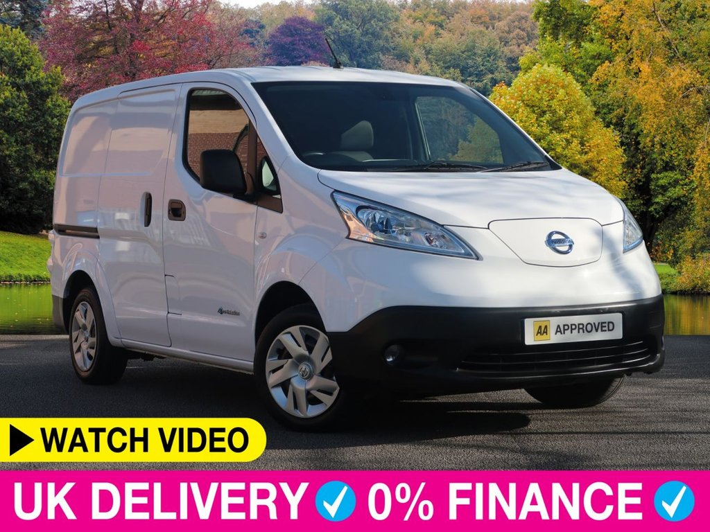 USED 2016 16 NISSAN e-NV200 Acenta Rapid Plus Auto Electric Van 6dr Air Con 2 side Doors 1 Owner