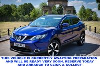 USED 2015 65 NISSAN QASHQAI 1.5 dCi N-Tec+ 5dr 5 Seat Family SUV with Massive High Spec and a Stunning Colour. Recent Service & MOT, New Battery & Timing Belt Replaced March 2021. Now Ready to Drive Away.