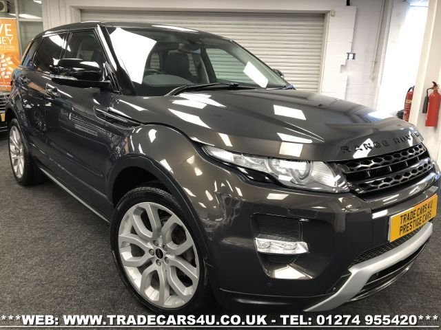 USED 2012 12 LAND ROVER RANGE ROVER EVOQUE RANGE ROVER EVOQUE SD4 AUTO 4WD DYNAMIC LUX 5DR FREE UK DELIVERY*VIDEO AVAILABLE* FINANCE ARRANGED* PART EX*HPI CLEAR