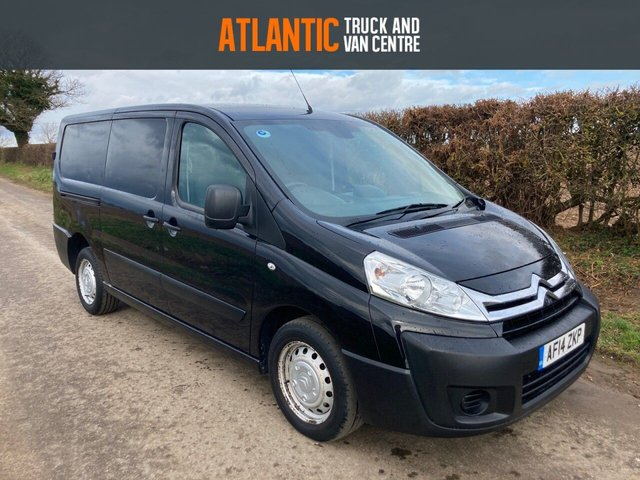 2014 14 CITROEN DISPATCH 1200 L2H1 ENTERPRISE HDI