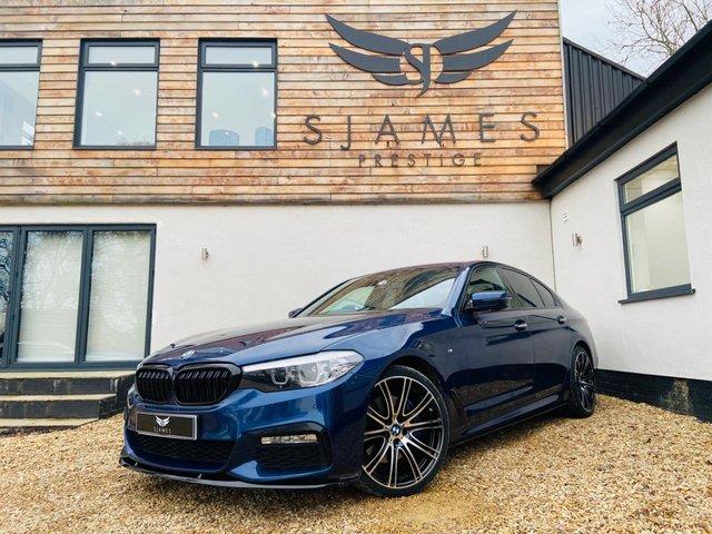 2017 BMW 5 SERIES 3.0 530D XDRIVE M SPORT 4d AUTO 261 BHP